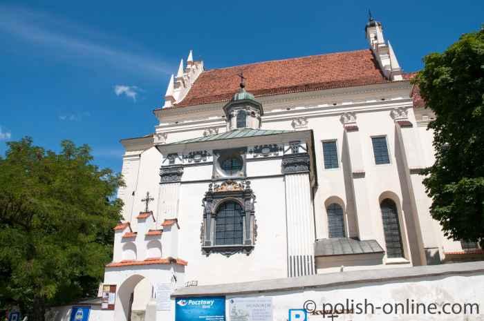 Pfarrkirche in Kazimierz Dolny