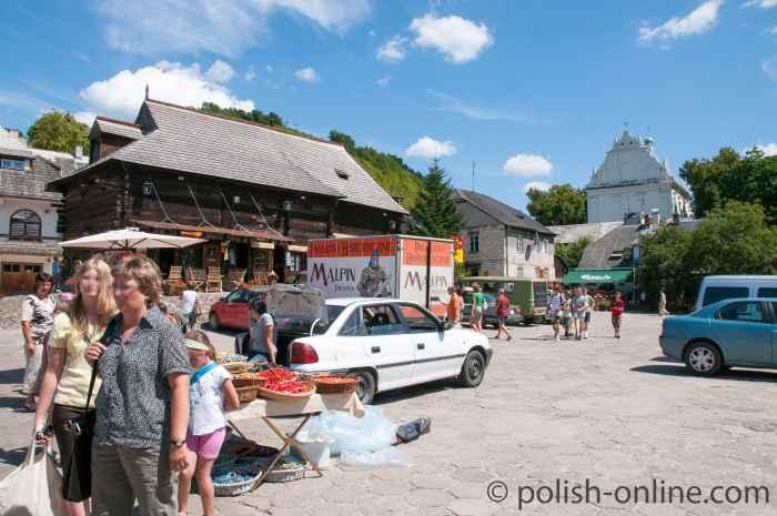 Kleiner Markt in Kazimierz Dolny