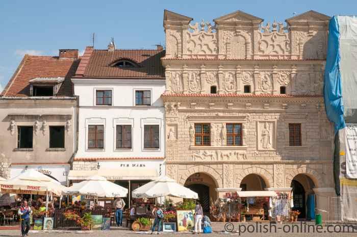Bürgerhäuser zum hl. Nikolaus und zum hl. Christophorus in Kazimierz Dolny