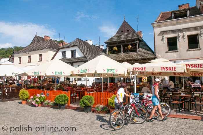 Südseite des Marktes in Kazimierz Dolny
