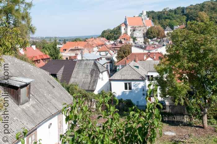 Über den Dächern von Kazimierz Dolny
