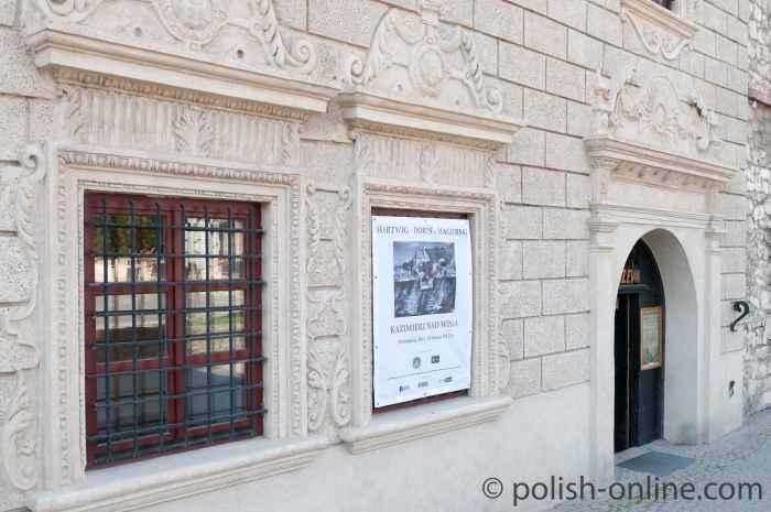 Eingang zum Stadtmuseum von Kazimierz Dolny