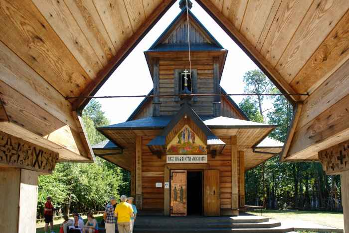 Kirche auf dem Grabarka-Hügel