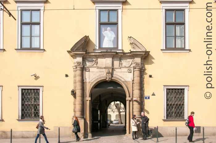 Bischofspalais in Krakau (Kraków)