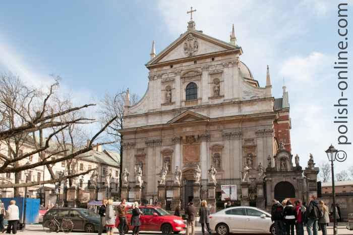 St. Peter- und Paulskirche Krakau (Kraków)