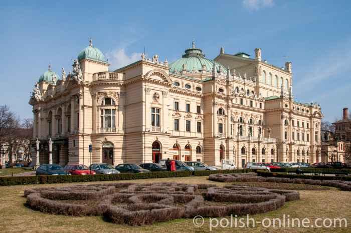 Juliusz-Słowacki-Theater in Krakau (Kraków)