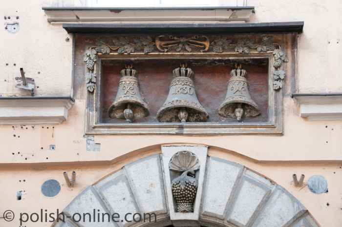 Haus zur Glocke in Krakau (Kraków)