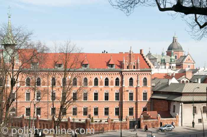 Collegium Novum in Krakau (Kraków)