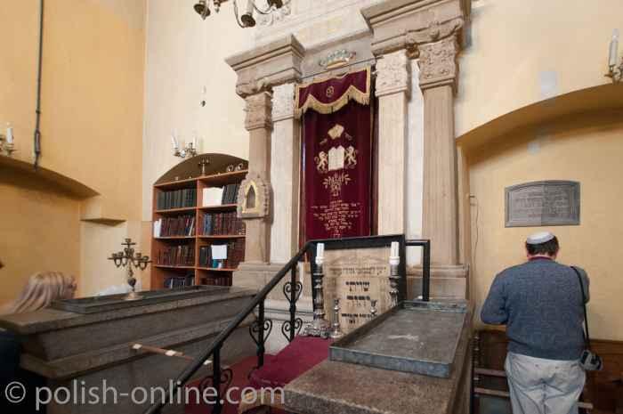 Synagoge Remuh im Krakauer Stadtteil Kazimierz