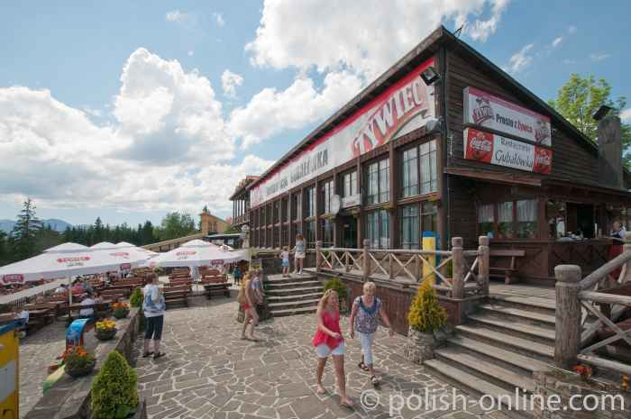 Restaurant auf der Gubałówka in Zakopane