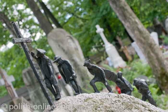 Grabstein auf dem Alten Friedhof in Zakopane