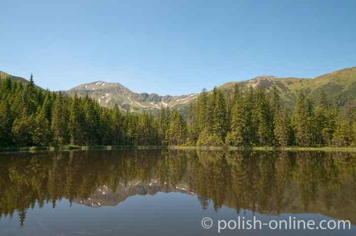 Schwarzer See in der Hohen Tatra