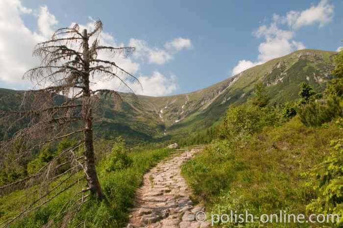 Auf dem Weg zum Giewont Hohe Tatra