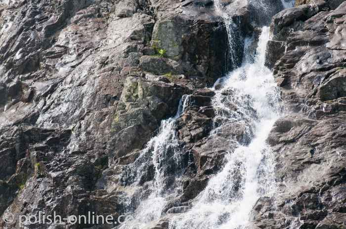 Wasserfall Großen Siklawa (Wielka Siklawa) Hohe Tatra