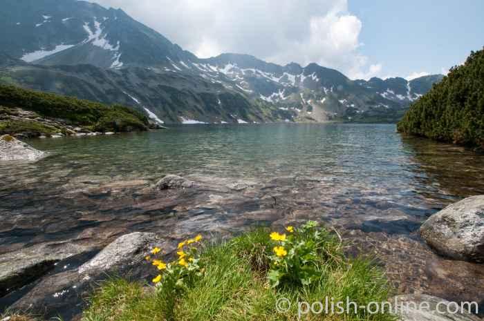 Großer Polnischer See in der Hohen Tatra