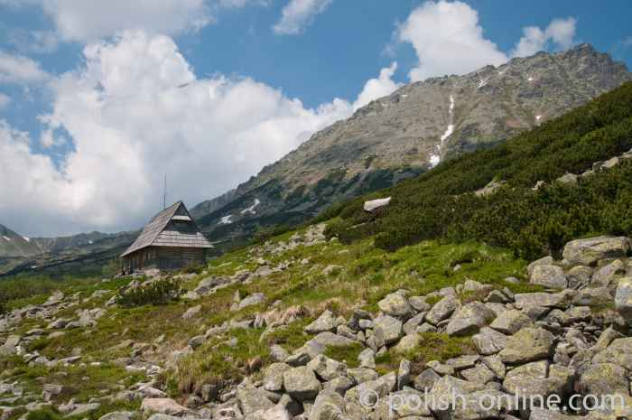 Hirtenhütte in der Hohen Tatra