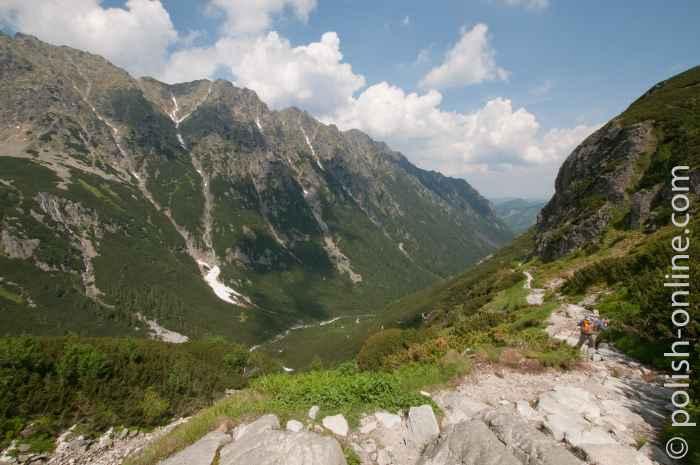 Tal Roztoki in der Hohen Tatra