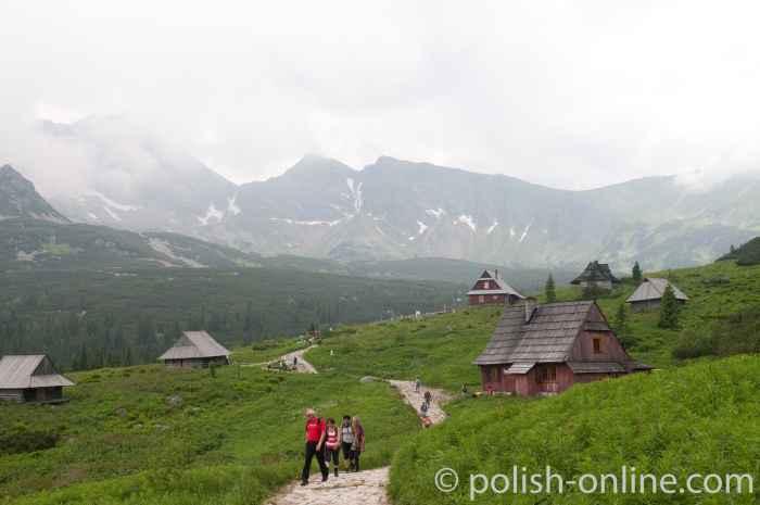 Hirtenhütten in der Hohen Tatra