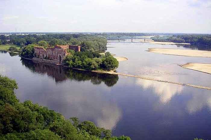 Festung Modlin bei Warschau