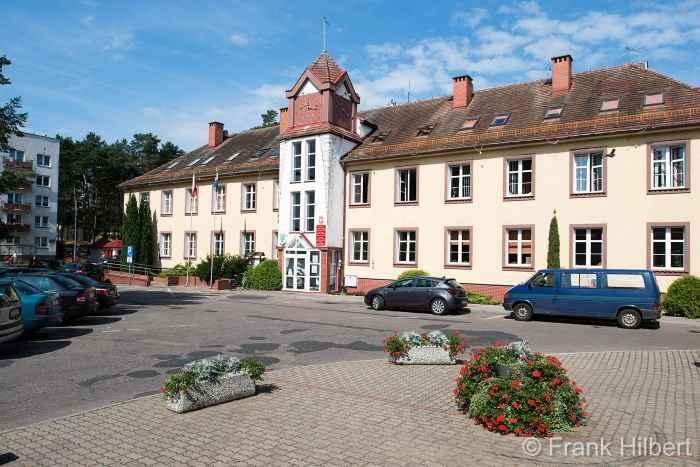 Stadtverwaltung von Groß Born (Borne Sulinowo)