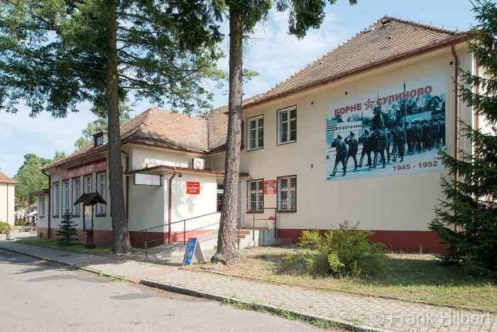 Ehemalige Offizierskantine in Groß Born (Borne Sulinowo)
