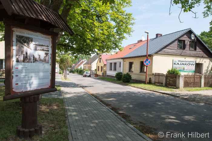 Gebäude des Dorfes Linde