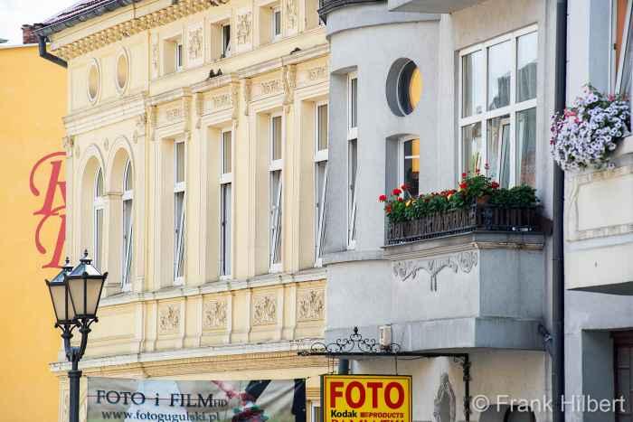 Fassade eines Hauses aus dem 19. Jahrhundert