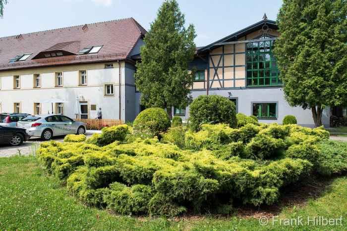 Kurhaus am Kurparks in Bald Polzin (Połczyn Zdrój)