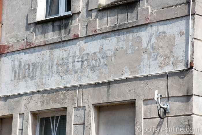 Fassade in Tempelburg (Czaplinek)