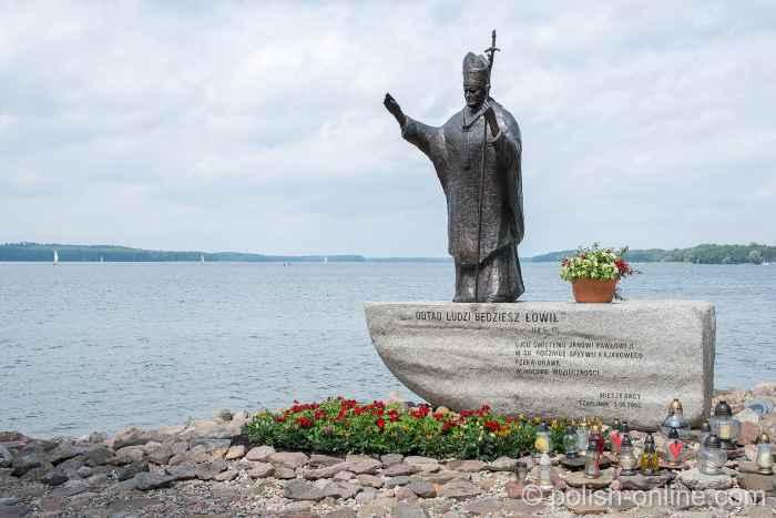 Denkmal für Papst Johannes Paul II. in Tempelburg