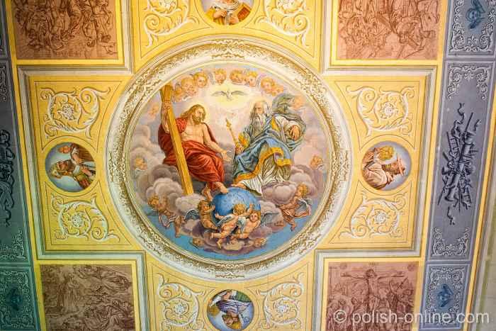 Deckenmalerei in der Dreifaltigkeitskirche