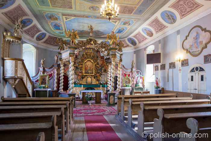 Kirchenschiff der Dreifaltigkeitskirche