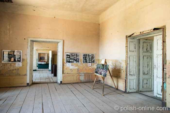 Zimmerflucht im Barockschloss Heinrichsdorf