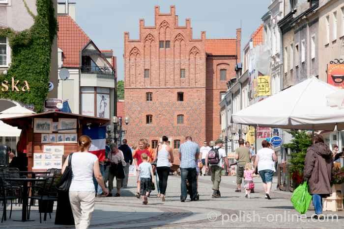 Das Hohe Tor in Allenstein (Olsztyn)