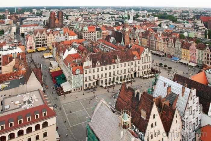 Panorama von Breslau (Wrocław)