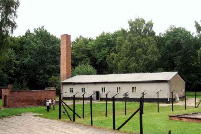 Gaskammer und Krematorium im KZ Stutthof
