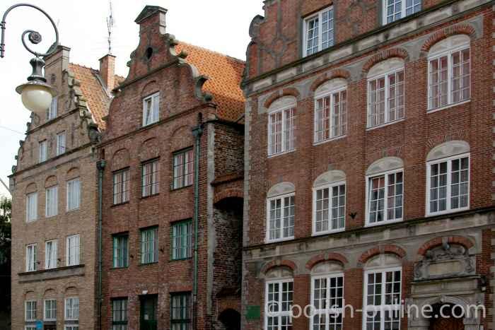 Bürgerhäuser in Elbing