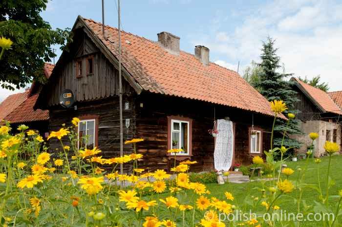 Holzhaus in Liebenthron (Klon) in Masuren