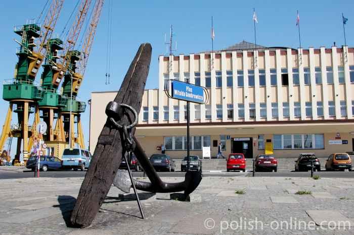 Meereshof in Gdingen (Gdynia)