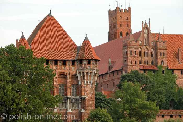 Palast des Hochmeisters Marienburg (Polen)