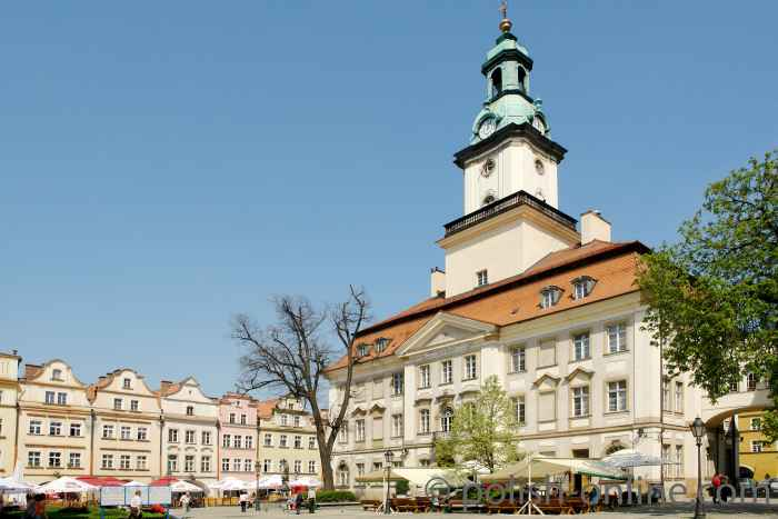 Rathaus von Jelenia Góra (Hirschberg)