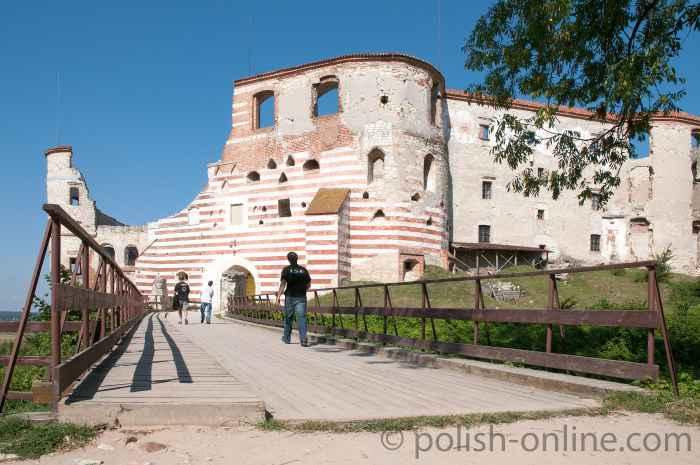 Burg von Janowiec