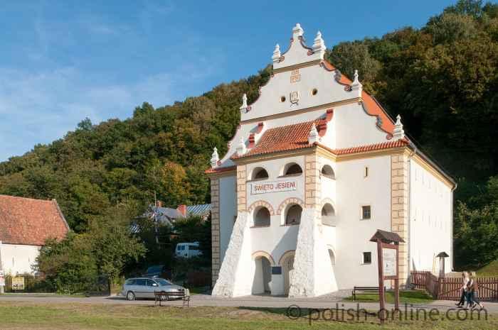 Renaissance-Speicher an der Weichsel in Kazimierz Dolny