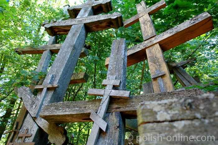 Kreuze in Grabarka