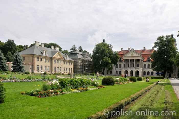 Schlossanlage in Kozłówka