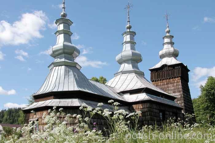 Griechisch-katholische Kirche in Szczawnik
