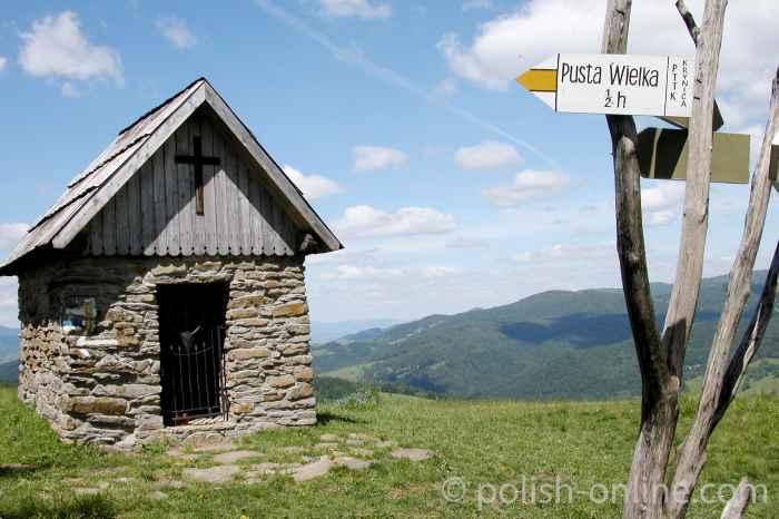 Bergkapelle bei Krynica Zdrój