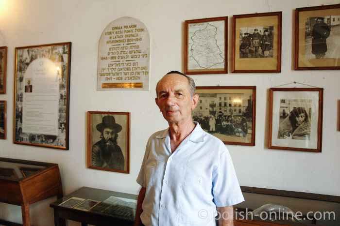 Roman Litman, Vorsitzender der Jüdischen Gemeinde Lublin