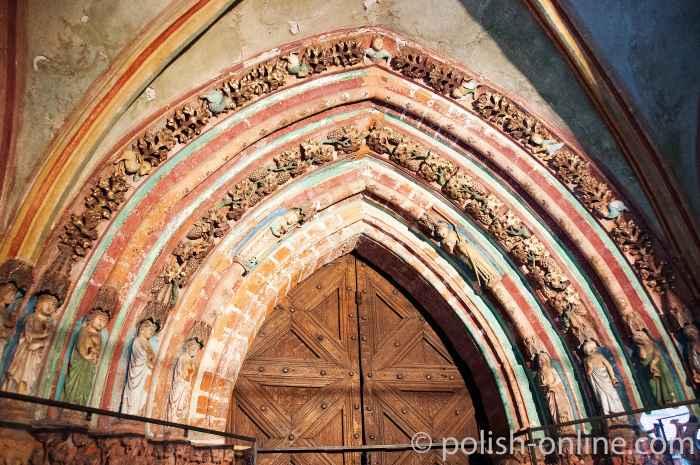 Goldenen Tor Marienburg (Malbork, Polen)