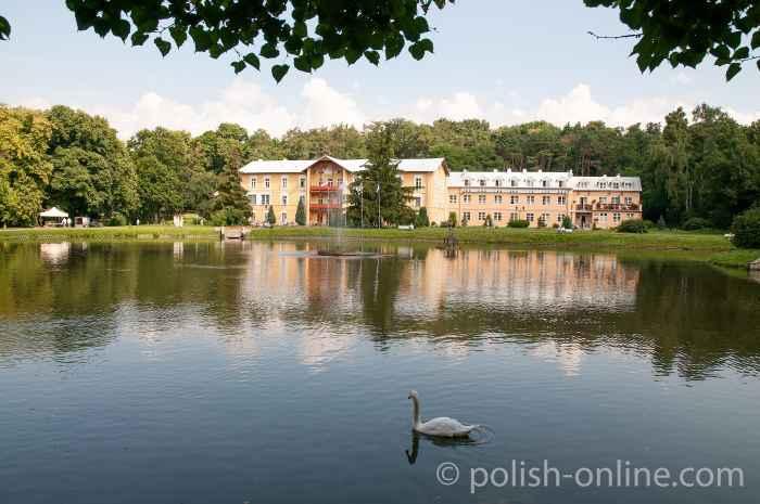 Park in Nałęczów